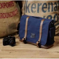 (Gold Product) Tas Kamera Sling Bag For Prosumer / Mirrorless / DSLR - 005 Navy