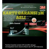 BEST 3M kaca film Crystaline + black beauty ( Medium Car )