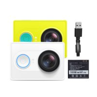 [FREE ONGKIR JABODETABEK] Xiaomi Yi Action Camera BASIC Original(green/white)