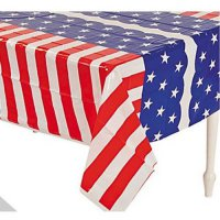 [poledit] Happy deals Patriotic Flag Table Covers Set of 3 - Red White and Blue Tablecloth/13554301