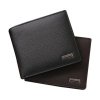 Bifold Wallet Men Leather Credit/ID Card Holder Billfold Purse Mini Wallet