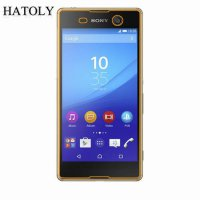 [globalbuy] 2PCS Tempered Glass For Sony M5 5663 Xperia M5 Ultra-thin Screen Protector for/5347807