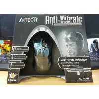(High Quality) A4tech X7 XL-747h Macro Gaming Mouse - Motif Spider