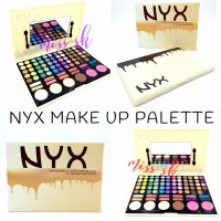 NYX Make Up Palette ( eye shadow lipstick blush on foundation palet )