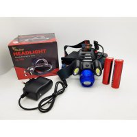 Senter Kepala Headlamp JL-150 ZOOM 3 LED Cree