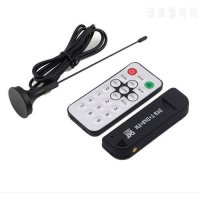 [globalbuy] 1Pc Support SDR Super Digital RTL2832U+R820T TV Tuner Receiver with antenna fo/5529971