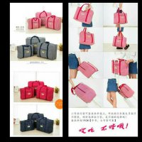 Tas Koper Waterproof Ukuran Besar Luggage Travel Organizer Bag