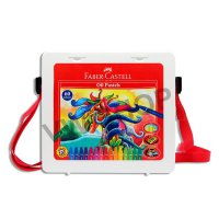 Faber Castell Faber-Castell Crayon Krayon Hexagonal Oil Pastel 60 Warna - with Plastic Bag
