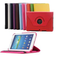 [globalbuy] 360 Degree Rotating Leather Cover For Samsung Galaxy Tab 2 P5100 Case P5510 10/3473880