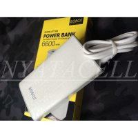 Powerbank Robot RT7100 6600mAh /Power Bank Original By Vivan 6600 mAh