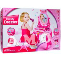 LUXURY DRESSER PLAY SET - MAINAN ANAK CEWEK MAKE UP MEJA RIAS
