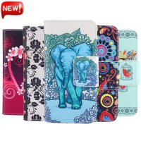 [globalbuy] Luxury Phone Etui for Coque Sony Xperia M5 Case Wallet Leather Flip Cover E560/4999716
