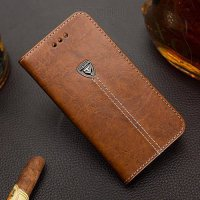 [globalbuy] For Sony Xperia M5 Case 4 Color Pu Leather Wallet Case for Sony Xperia M5 E560/4999852