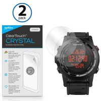 [poledit] BoxWave Garmin Fenix 2 ClearTouch Anti-Glare (2-Pack), Crystal Clear (2-Pack) or/13120302