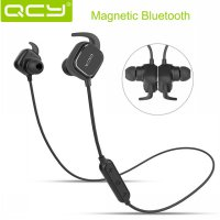 Earphone Sport Bluetooth Magnet QCY QY12 Original