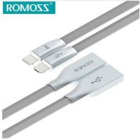 [globalbuy] For ROMOSS CB22c Gemini Data Sync & Charging USB Cable for iOS & Android 2in1 /3714183