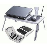 Dijual Meja Gaming Meja Laptop Lipat Desk Portable E-Table Coo Diskon