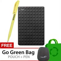 (Promo) Seagate Expansion New 2.5 Inch USB 3.0 500GB - Hitam + Gratis Go Green