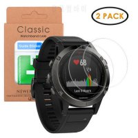 [globalbuy] Qosea (2 PACK) For Garmin Fenix 5 Tempered Ultra-thin Glass 9H Clear Scratch R/5344718