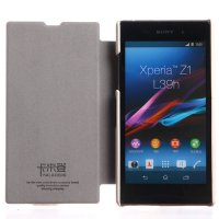 Flip Cover Sony Xperia Z1 Kalaideng Leather Case Enland Series SARUNG KULIT - ORIGINAL