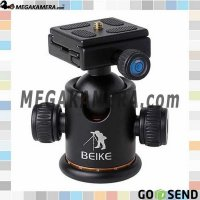 BEIKE BK-03 Camera Tripod Ball Head Ballhead with Quick Release Plate