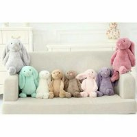 Jellycat Jelly Cat Bunny Plush Toy Boneka Kelinci Asli