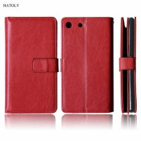 [globalbuy] Luxury Wallet Case For Sony Xperia M5 Flip Leather Case Silicon Phone Bag For /5422529