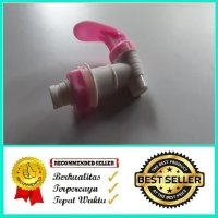 Keran Dispenser Air Panas Warna Merah