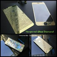 Tempered Glass Iphone 5 / 5s / 5G / 5C 3D Diamond Depan Belakang