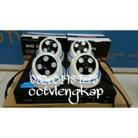 PAKET KAMERA CCTV 4CHANNEL 2MEGAPIXEL 1080P FULL HD