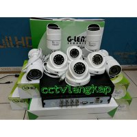 (Kamera CCTV) PAKET CCTV 8CHANNEL AHD 1.3MP +HDD 1TB MURAH