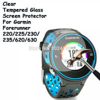 [globalbuy] For Garmin Forerunner 220/225/230/235/620/630 Clear Tempered Glass Screen Prot/5178955