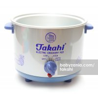 Takahi Slow Cooker 1.2 L Sparepart Body Only - Blue