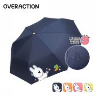 [OVER ACTION RABBIT] automatic opening and closing three-stage folding umbrella HUOAU70002