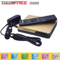 [globalbuy] Tocomfree s989 with acm digital satellite receiver +wifi antenna free and supp/5537390