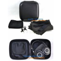 [globalbuy] Black Hard Storage Case Travel Bag Box For Audio Technica ATH M50 M50x M40 M40/4974488