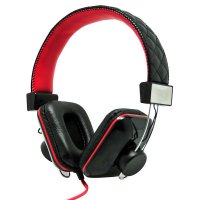 Havit Stereo Big Ear Pad Headphones Hv-H2093D - Black Red HargaPrommo03