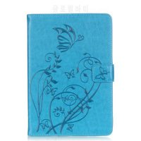 [globalbuy] Butterfly Painting PU Leather Flip Case For Apple iPad Mini 1 2 3 Cases W/Stan/4930732