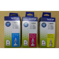 [Gold Product] BROTHER TINTA REFILL/BOTOL BT5000C/M/Y ORIGINAL/DCP-T300
