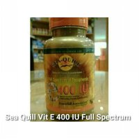 Sea Quill Vit E 400 IU Full Spectrum