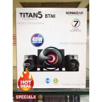 [Sonic Gear] New Titan 5 Btmi Multimedia Speaker Fm Radio Usb Memory HargaPrommo03