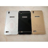 Aluminium Metal Bumper Case with Back Cover - Oppo Mirror 5 5S