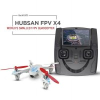 Ghz Hubsan FPV X4 Mini Drone Quadcopter with Camera - H107D - White