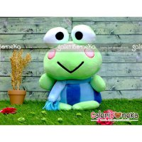 Boneka Keropi Syal Medium ( K - 1301 )