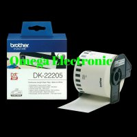 (Gold Product) Brother Label Tape DK-22205 Continuous Length Paper Tape DK 22205