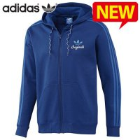 Adidas hooded zip-up / zip-limited special SPO Hooded Flock Jacket for men / GG-G84777 / retail sales