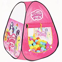 TENDA ANAK SEGITIGA LITTLE PONY