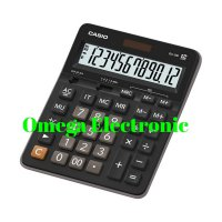 (Best Seller) Casio GZ 12S - Calculator Desktop Kalkulator Meja Kantor Office GZ-12S
