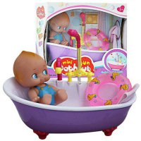 Mainan Anak Perempuan Mini Fun Bathtub Main Air Electric