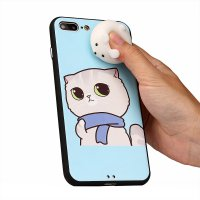 Squishy 3D Cute Animal Soft Silicone Back Case Cover For IPhone 7 Plus 5.5Inch